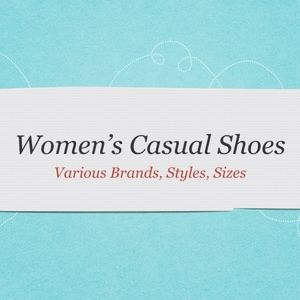 Women's Casual Shoes New In Box